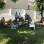 Los usuarios del Centro de Día disfrutan de la piscina adaptada de Fuerte del Rey