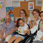 """Elena Moreno (voluntaria): """"Mi experiencia en la Escuela de Verano ha sido maravillosa"""""""