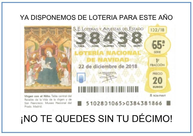 El 38.438, el número de la suerte de Aspace Jaén para esta navidad