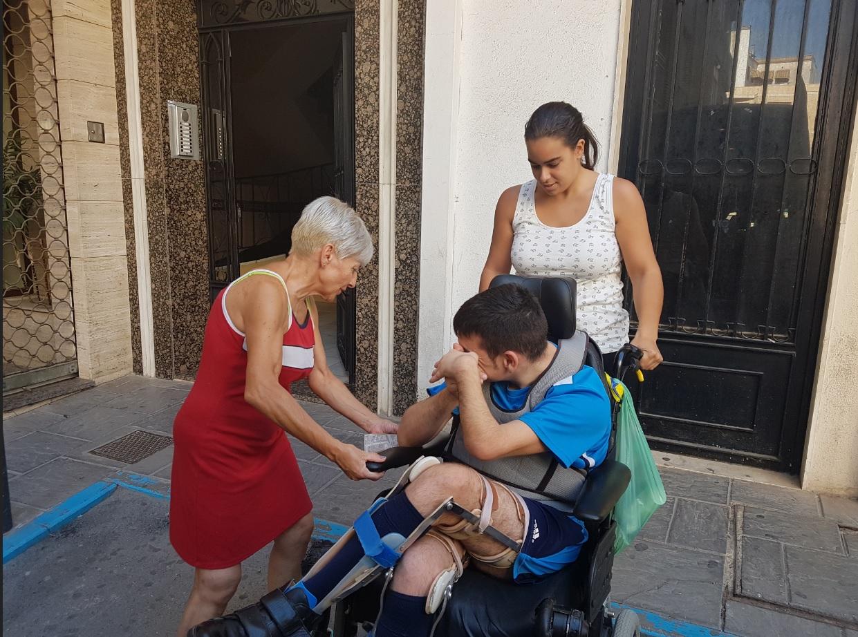 Carmen Beltrán, ejemplo de superación entra a formar parte del equipo profesional de Aspace Jaén