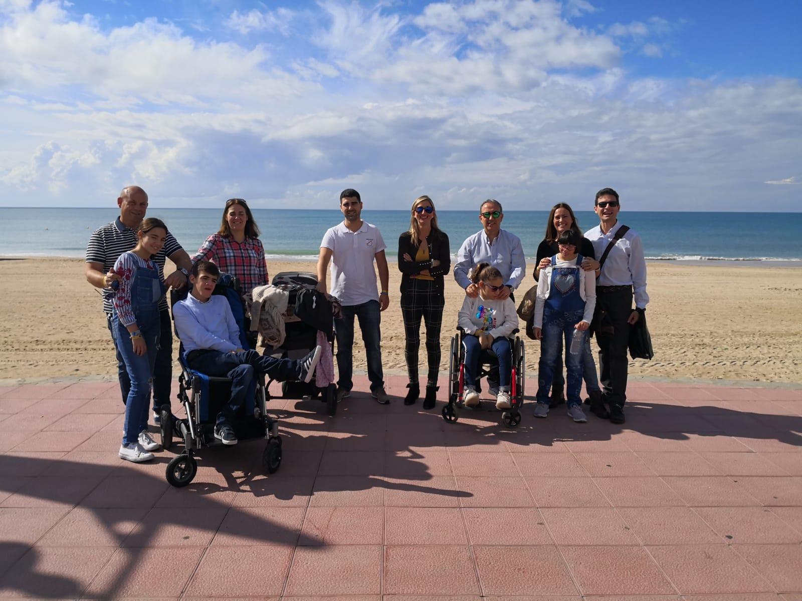 Aspace Jaén participó en el IX Encuentro Andaluz de Familias con Parálisis Cerebral en Chiclana