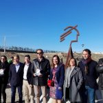 Un monolito para Aspace realizado por los internos del Centro Penitenciario Jaén II