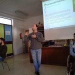 Aspace Jaén participa en los actos promovidos por el día de la discapacidad en el IES Santa Catalina