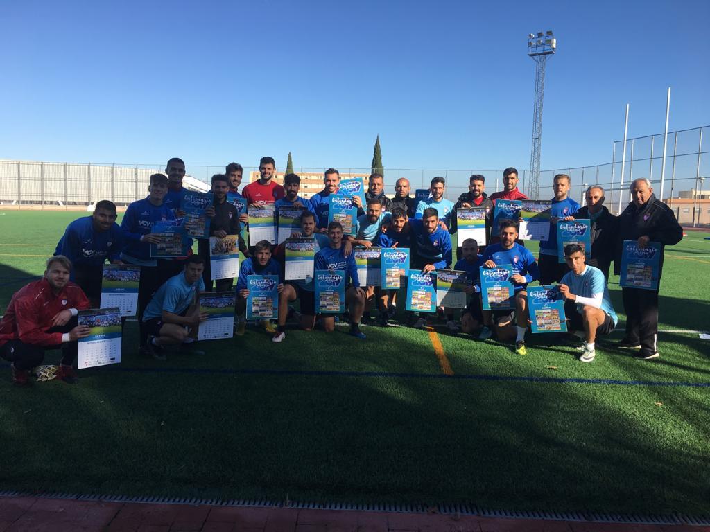 Los clubes deportivos apoyan nuestro Calendario Solidario
