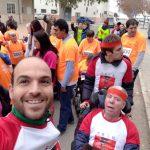 Los usuarios del Centro de Día también corren la San Antón