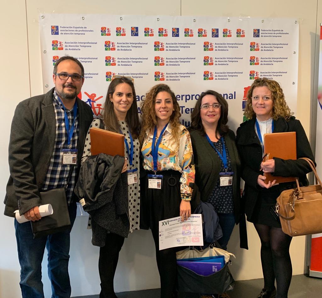 Profesionales de Aspace Jaén asisten a las XVI Jornadas de Atención Temprana de Andalucía