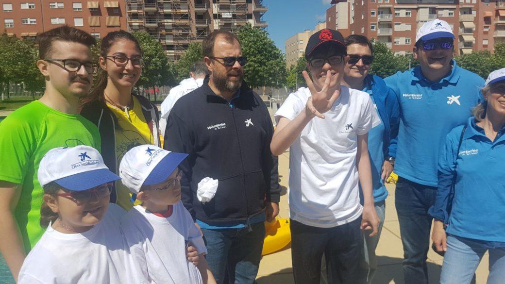 Aspace Jaén participa en el Día del Voluntariado de La Caixa