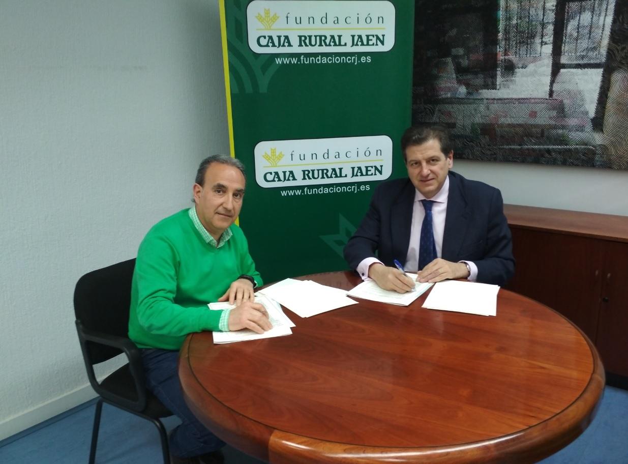 Aspace Jaén firma un nuevo convenio con la Fundación Caja Rural de Jaén
