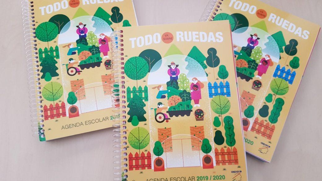 Ya disponible la agenda solidaria de Aspace Jaén para el próximo curso escolar
