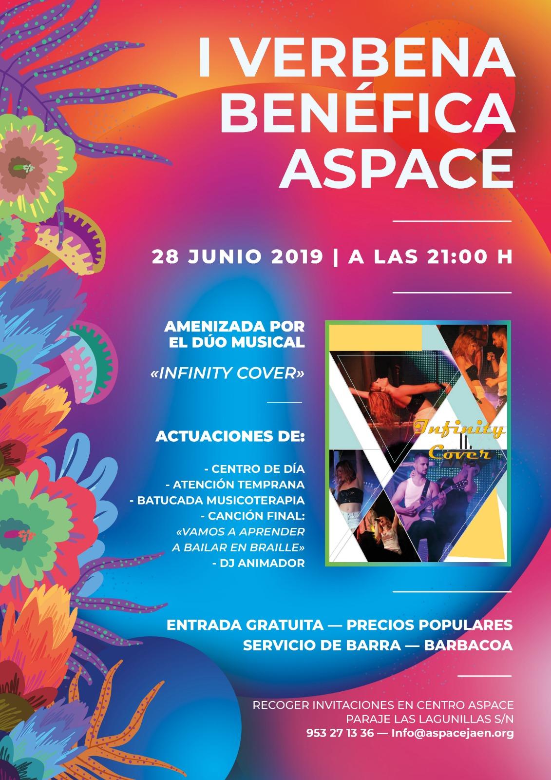 I verbena benéfica a favor de Aspace Jaén