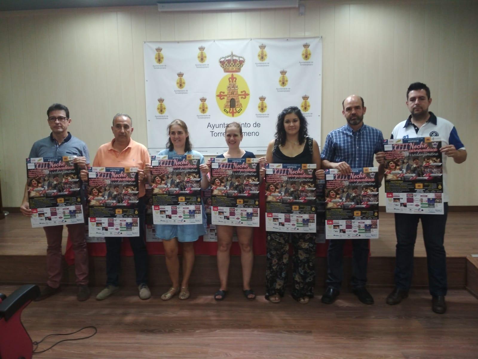 Se presenta oficialmente XIII Noche Carnavalesca de torredonjimeno