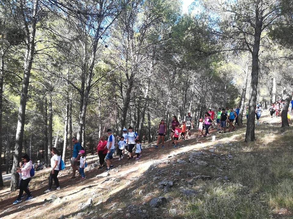 Más de 400 personas se suman a la caminata solidaria de La Borriquilla a favor de Aspace Jaén