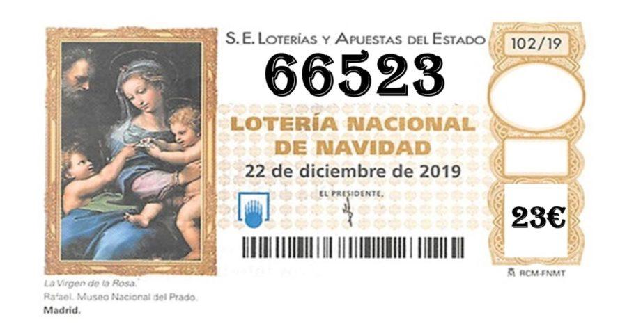 El 66.523 el número de la suerte de Aspace Jaén para esta navidad