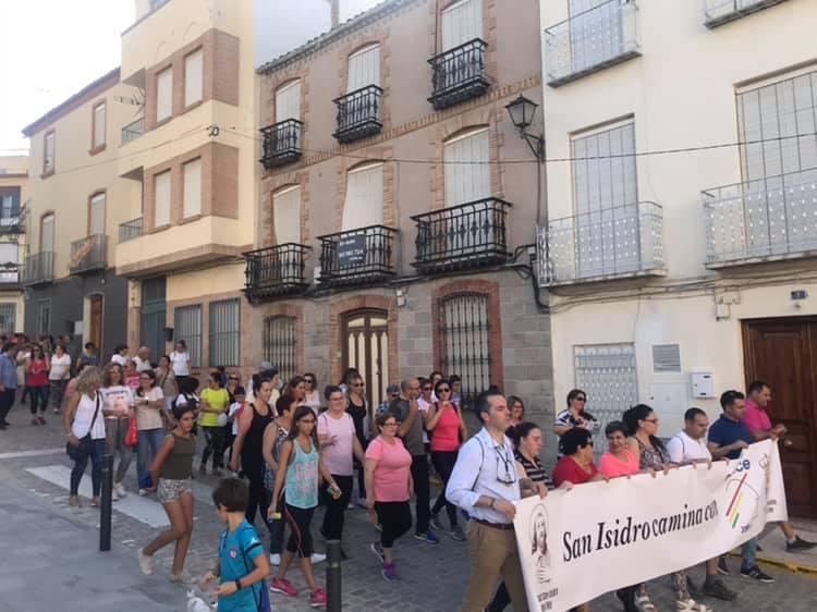 Fuerte del Rey se suma a la caminata a favor de Aspace Jaén
