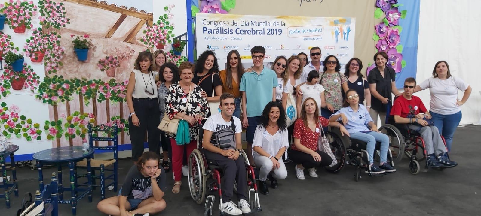 Aspace Jaén viajó hasta Córdoba para asistir al Congreso del Día Mundial de la Parálisis Cerebral