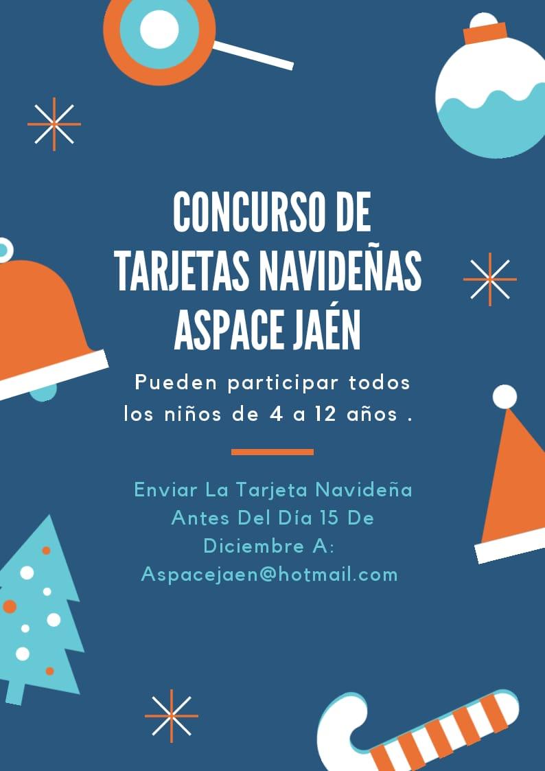 Concurso de postales navideñas Aspace Jaén