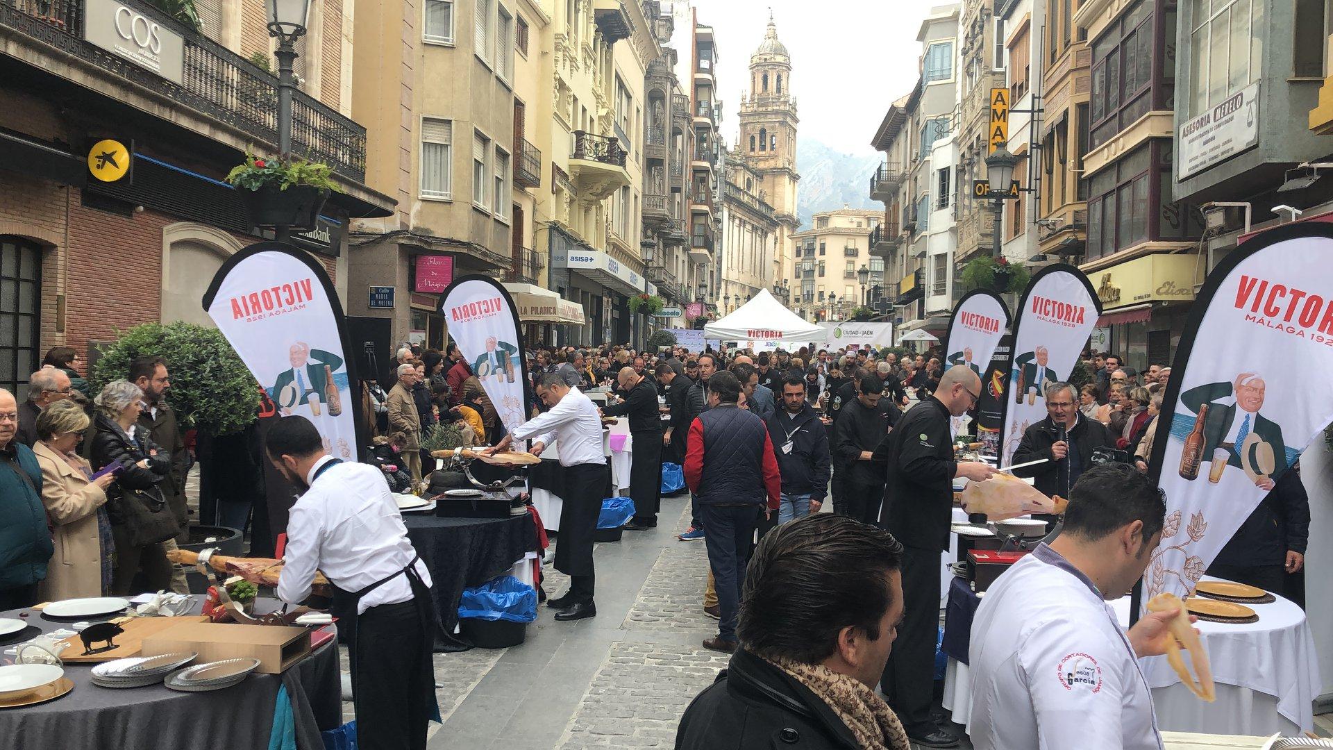 Solidaridad con Aspace Jaén en el IV Concurso de Corte de Jamón «Ciudad de Jaén»