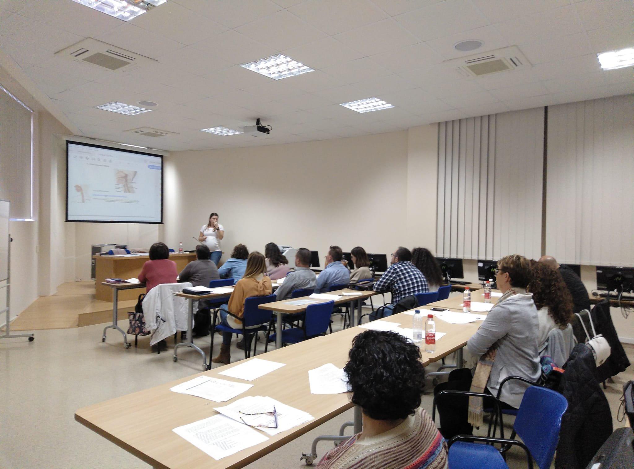 Profesionales de Aspace Jaén  se forman sobre texturización de alimentos