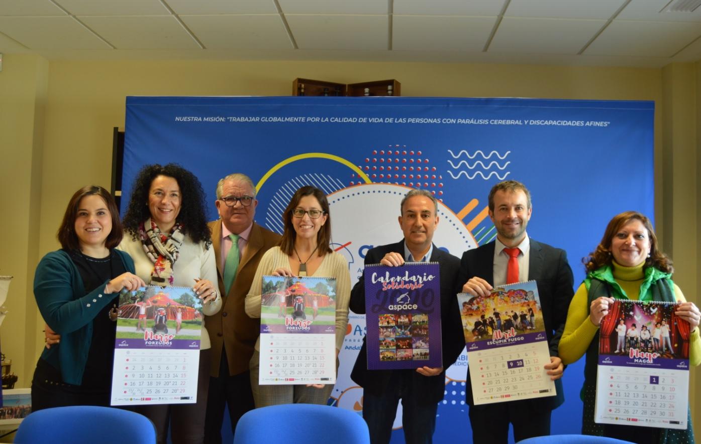 Se presenta oficialmente el Calendario Solidario 2020 de Aspace Jaén
