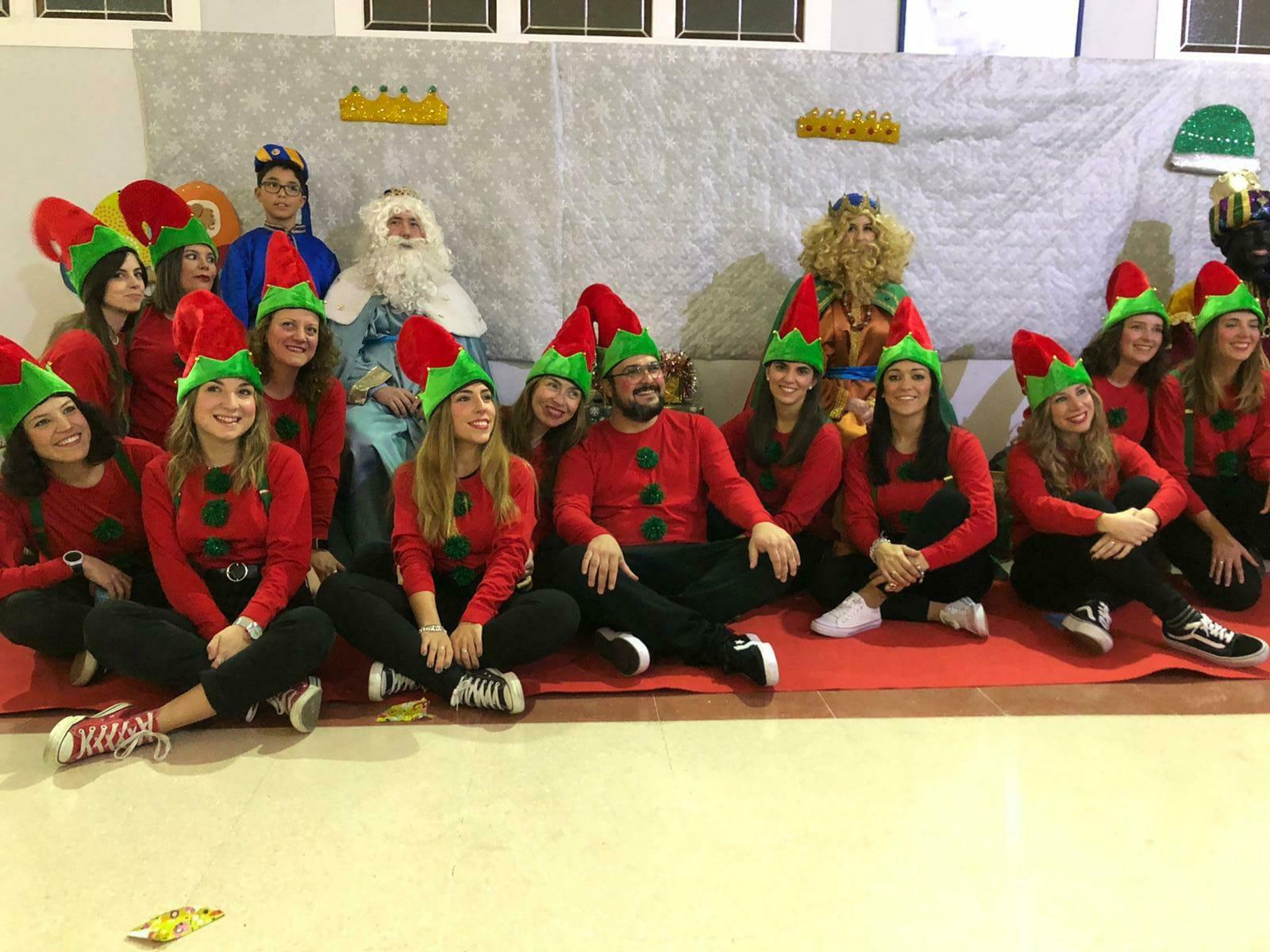 Los Reyes Magos visitaron Aspace Jaén