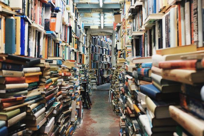 Campaña de recogida de libros de segunda mano