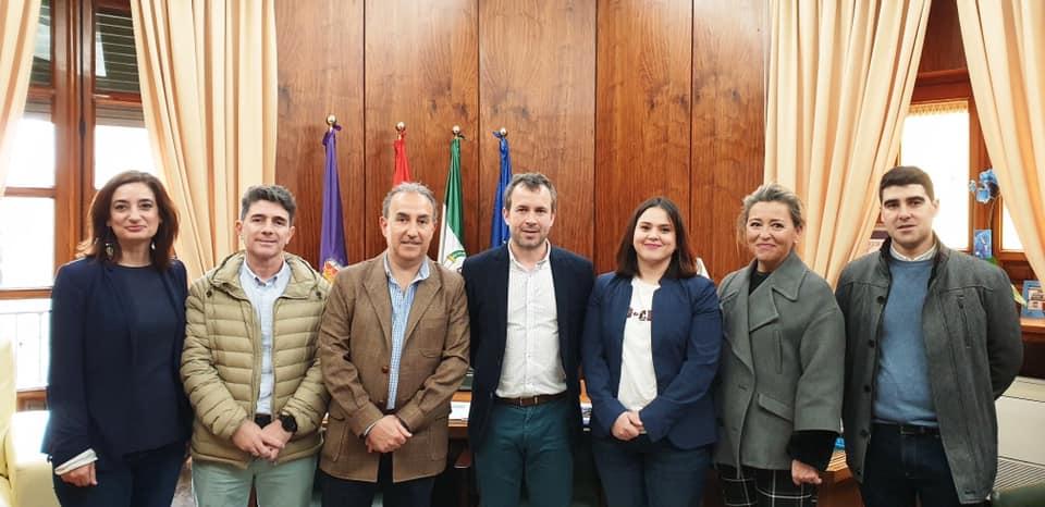 Aspace Jaén se reúne con el alcalde Julio Millán