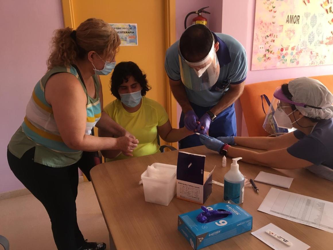 Dan negativo las pruebas realizadas a trabajadores y usuarios del Centro de Día de Aspace Jaén
