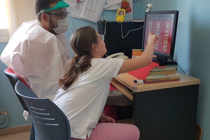 Fundación ONCE financia una sala de estimulación sensorial de Aspace Jaén