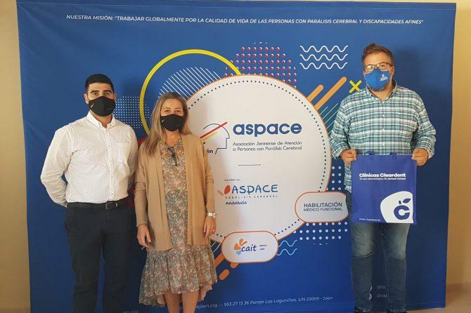 Aspace Jaén y Clínicas Cleardent colaborarán en pro de las personas con parálisis cerebral y afines
