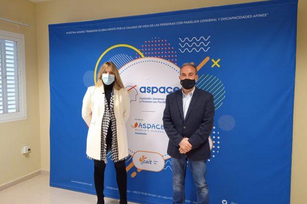 Aspace Jaén y Grupo AVANZA unen sinergias en pro de las personas con parálisis cerebral