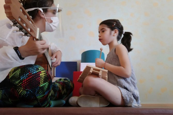 La Fundación Ibercaja colabora con Aspace Jaén en nuestro proyecto de Musicoterapia