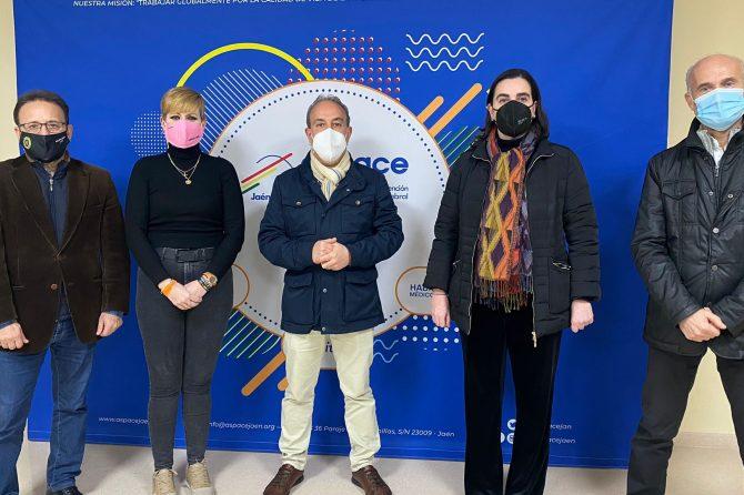 Los concejales de Ciudadanos en el ayuntamiento de Jaén visitan nuestro Centro