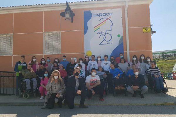 Aspace Jaén cumple 25 años trabajando por las personas con parálisis cerebral y afines