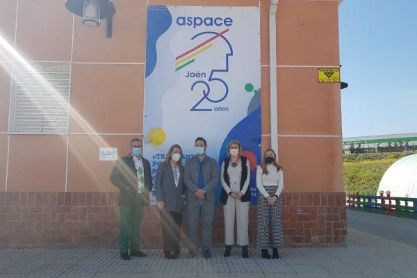 La directiva de AJE Jaén conoce nuestro trabajo
